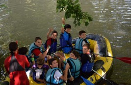 CAMPUS: Rafting en el rio Butrón (FOTOS)