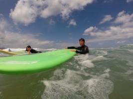 SURF: Una bonita mañana de surf en Sopela (FOTOS)