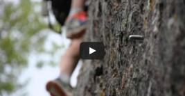 CORNEJO Peña Horrero es un fantástico sitio para escalar (VÍDEO)