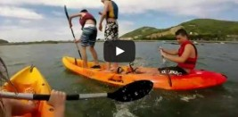 LAREDO De piraguas por Santoña (VÍDEO)