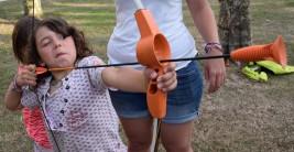 LAREDO: Practicando el tiro con arco (FOTOS)