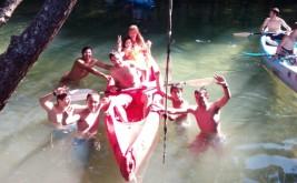 CORNEJO 21-31 julio: Piraguas en el río Trema (FOTOS y VÍDEOS)