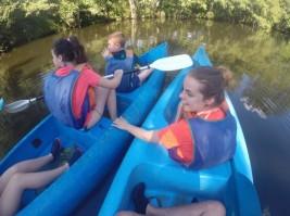 MEDINA 1-11 julio: Refrescándonos con las piraguas