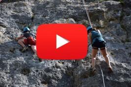 CORNEJO 1-11 julio: Escalada y acampada en Peña Horrero (VÍDEO)