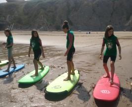 SURF 11-21 julio: Primera clase de surf