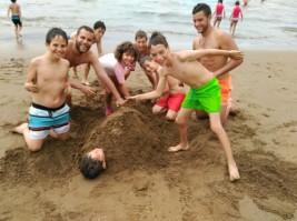 CAMPUS 16-31 julio: Disfrutando de la playa