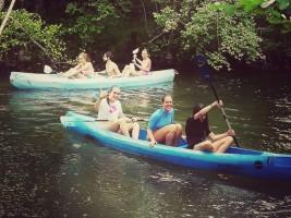CORNEJO 21-31 julio: Day 2: Piragüeando