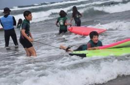 SURF y MULTIAVENTURA GETXO 21-31 julio: Surf entre olas