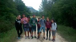 CORNEJO 1-11 agosto: Orientándonos y acampando por Burgos