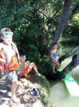 CORNEJO 11-21 agosto: Nos refrescamos en Butrera