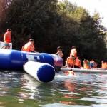 CORNEJO 01-06 septiembre: Piraguas y parque acuático en el río Trema (FOTOS)