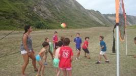 MULTIDEPORTE 1-15 agosto: Vóley-playa en Azkorri (FOTOS)