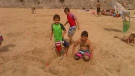 MULTIDEPORTE y FÚTBOL 1-15 agosto: Golf en la playa (FOTOS)