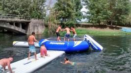 CORNEJO 21-31 agosto: Parque acuático en las piscinas naturales de Villarcayo (FOTOS)
