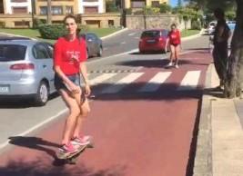 SURF 1-11 julio: Patinando por Getxo (VÍDEO)