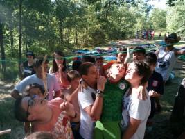 CORNEJO 1-11 julio: Baño y juegos en el río de Cornejo (FOTOS)