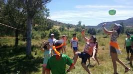 CORNEJO 1-11 julio: Jugando a rugby tack y volleyball (FOTOS)