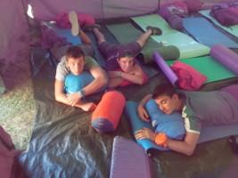 MEDINA 11-21 julio: Multiaventura en la acampada en Baíllo (FOTOS)