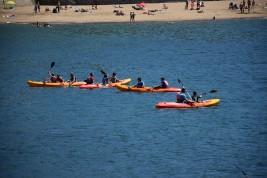 SURF 1-10 agosto y CAMPUS 1-15 agosto: Piraguas y parque acuático en el Puerto Viejo (FOTOS)