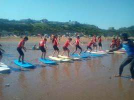 SURF 1-10 agosto: Primer día de surf (FOTOS)