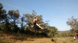 CORNEJO 21-31 agosto: Tirolina y tiro con arco (FOTOS)