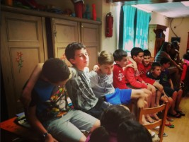 CORNEJO 1-11 julio: Day 9: Clases inusuales y Got Talent!