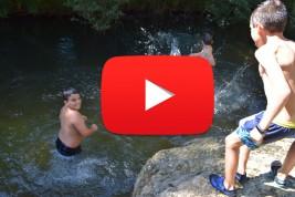 CORNEJO 11-21 julio: Un buen baño en el río Trema (VÍDEO)
