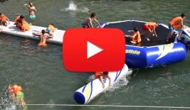CAMPUS 16-31 julio: Parque acuático en el Puerto Viejo (VÍDEO)