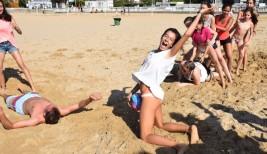 LAREDO 21-31 julio: Juegos en la arena