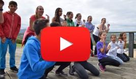 LAREDO 21-31 julio: Ruta por el monte, tiro con arco, slackline y playa (VÍDEO)