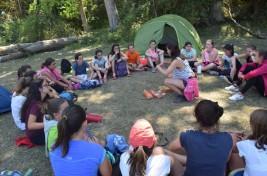 CORNEJO 21-31 julio: Acampada en Peña Horrero