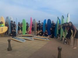 MULTIAVENTURA GETXO 1-11 julio: Clase de surf (FOTOS)
