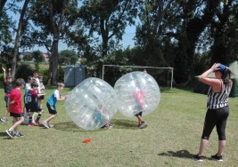 CAMPUS 1-15 julio: Slackline, tiro con arco y las bolas (FOTOS)