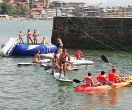 SURF y MULTIAVENTURA GETXO 11-21 julio: Paddle kayak y parque acuático (FOTOS)
