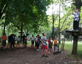 MULTIAVENTURA GETXO 11-21 julio: Tirolinas y rocódromo (FOTOS)