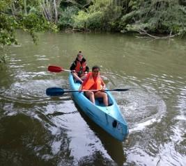 MEDINA 11-21 julio: Surcamos el río en piragua (FOTOS)