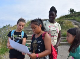 MULTIAVENTURA GETXO y SURF 11-21 julio: Juego de orientación (FOTOS)