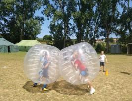 CAMPUS 16-31 julio: Slackline y las bolas gigantes (FOTOS)