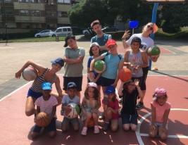 CAMPUS 16-31 julio: Baloncesto y balonmano (FOTOS)