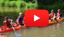 MULTIAVENTURA GETXO y SURF 21-31 julio: Piraguas por el río Butrón (VÍDEO)