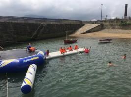 CAMPUS 16-31 julio: Aquapark en el Puerto Viejo (FOTOS)