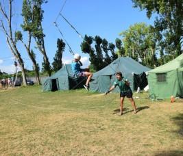 SURF y MULTIAVENTURA 1-10 y CAMPUS 1-15 agosto: Tirolina (FOTOS)