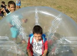 CORNEJO 11-21 agosto: Partido de bolas gigantes (FOTOS y VÍDEOS)