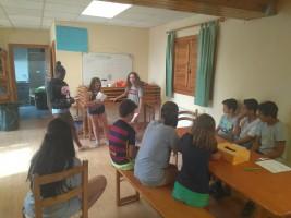 CORNEJO 1-6 septiembre: Clases del Barnetegi (FOTOS)