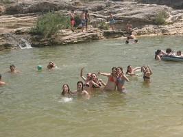 MEDINA 1-11 JULIO: Divirtiéndonos en el río (FOTOS)