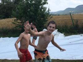 CORNEJO 1-11 JULIO: Juegos en la lona (FOTOS Y VIDEOS)