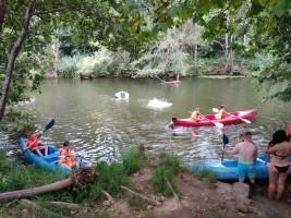 MEDINA 1-11 JULIO: piraguas en el río y juegos cooperativos (FOTOS Y VIDEOS)