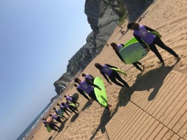 SURF Y MULTIAVENTURA 1-11 JULIO: Clases de surf, playa y Gynkana de agua (FOTOS Y VIDEOS)