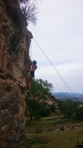 MEDINA 11-21 JULIO: Excursión a Villarcayo y escalada (FOTOS)