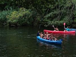 MEDINA 11-21 JULIO: Piraguas en el río (FOTOS)